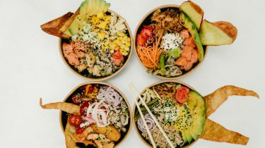 poké bowls koolhydraatarme
