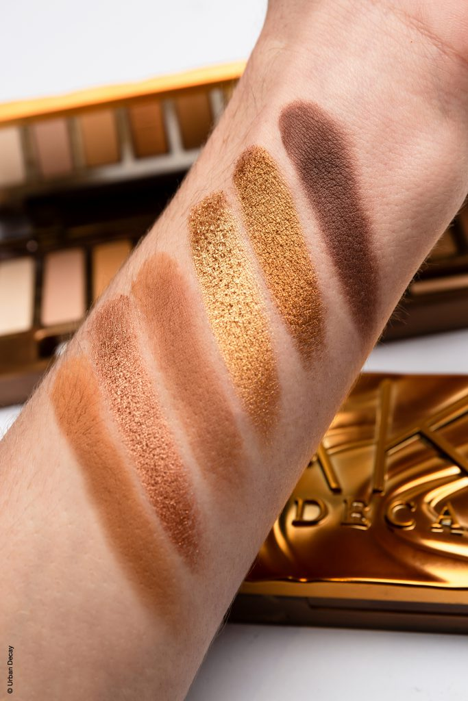 urban decay honey palette swatches