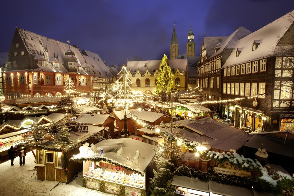 Goslar kerstmarkt Duitsland