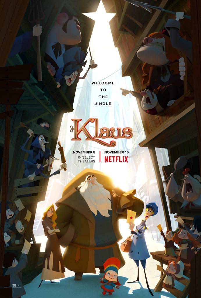 Klaus is een kerstfilm op netflix