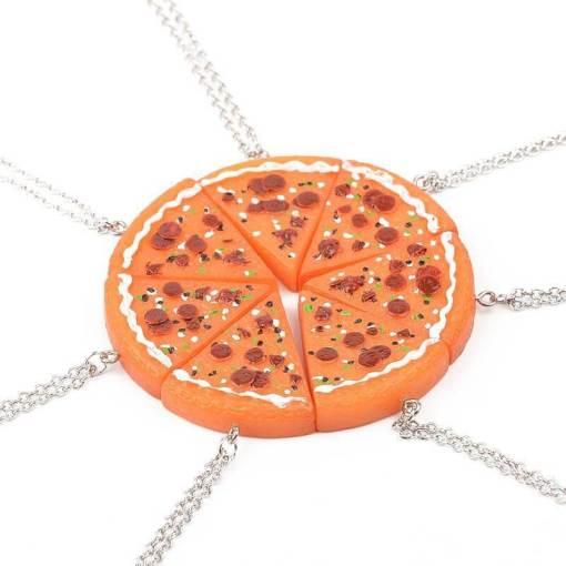 pizza ketting vriendinnen
