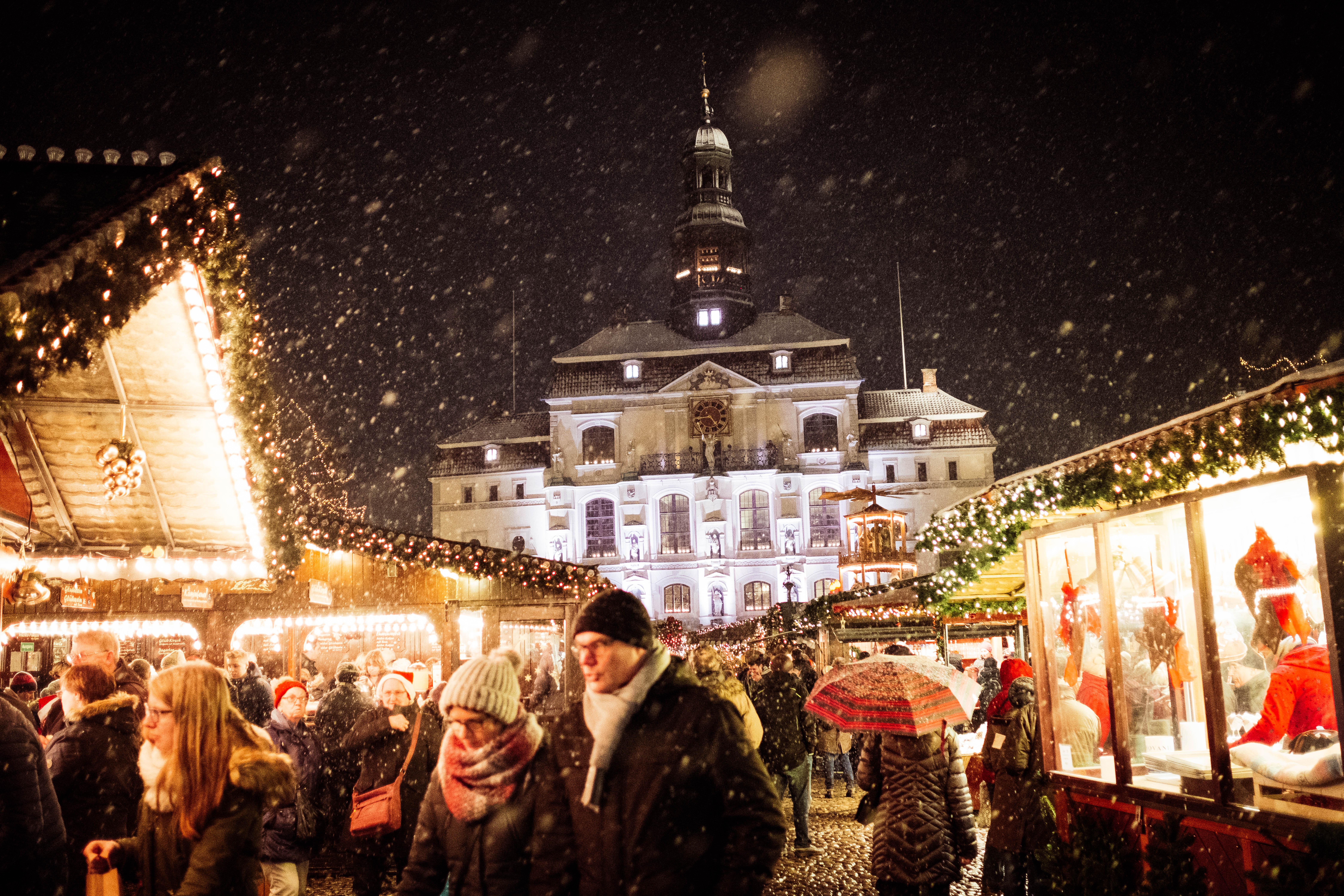 Weihnachtsstadt Lüneburg ©Mathias Schneider