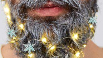 kerstcadeau baard