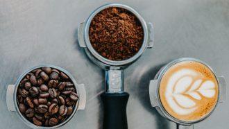 Koffie huidverzorgingsproduct