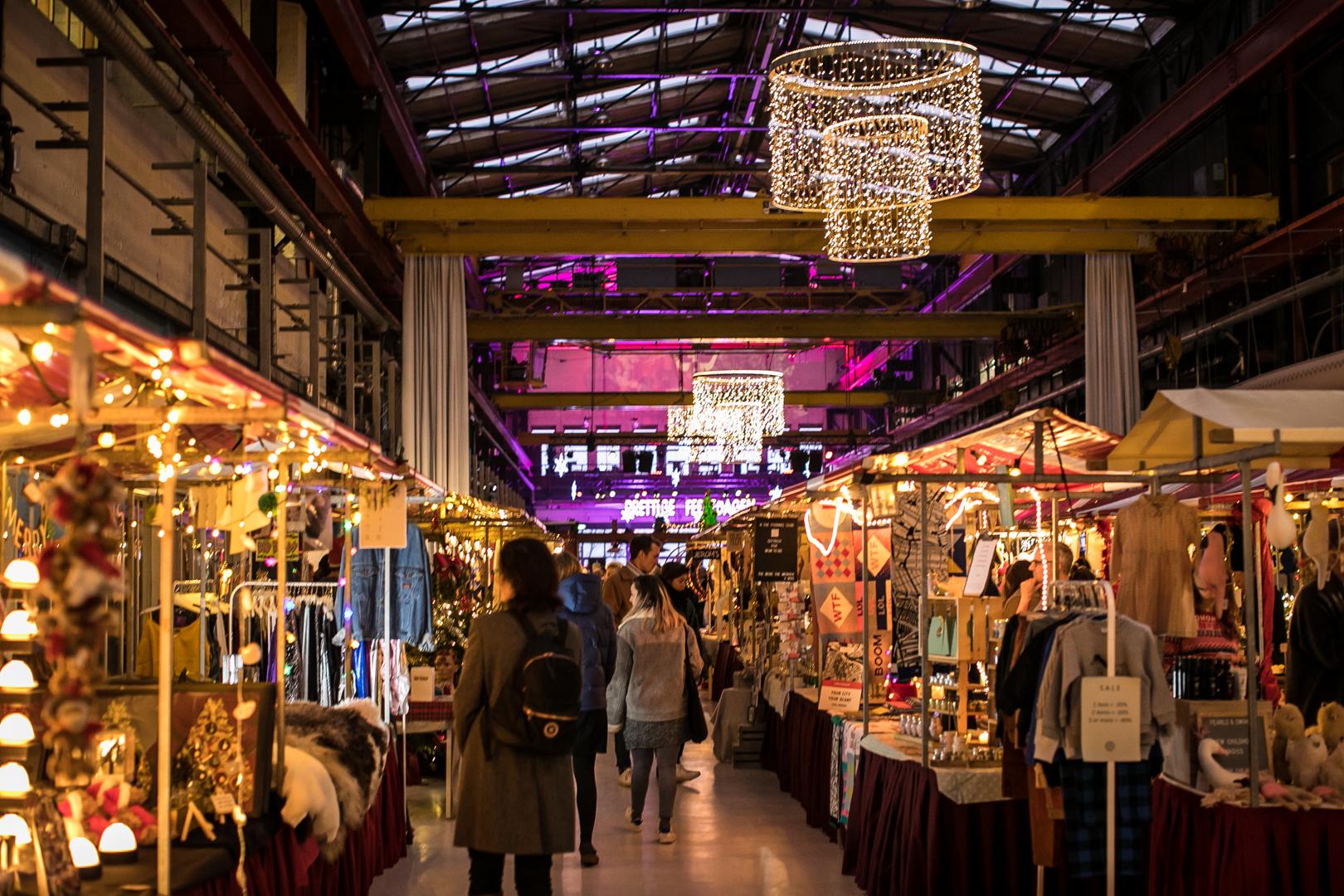 Amsterdamsche kerstmarkt in Nederland
