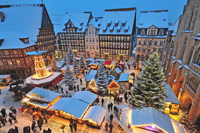 Kerstmarkt buitenland Hildesheim