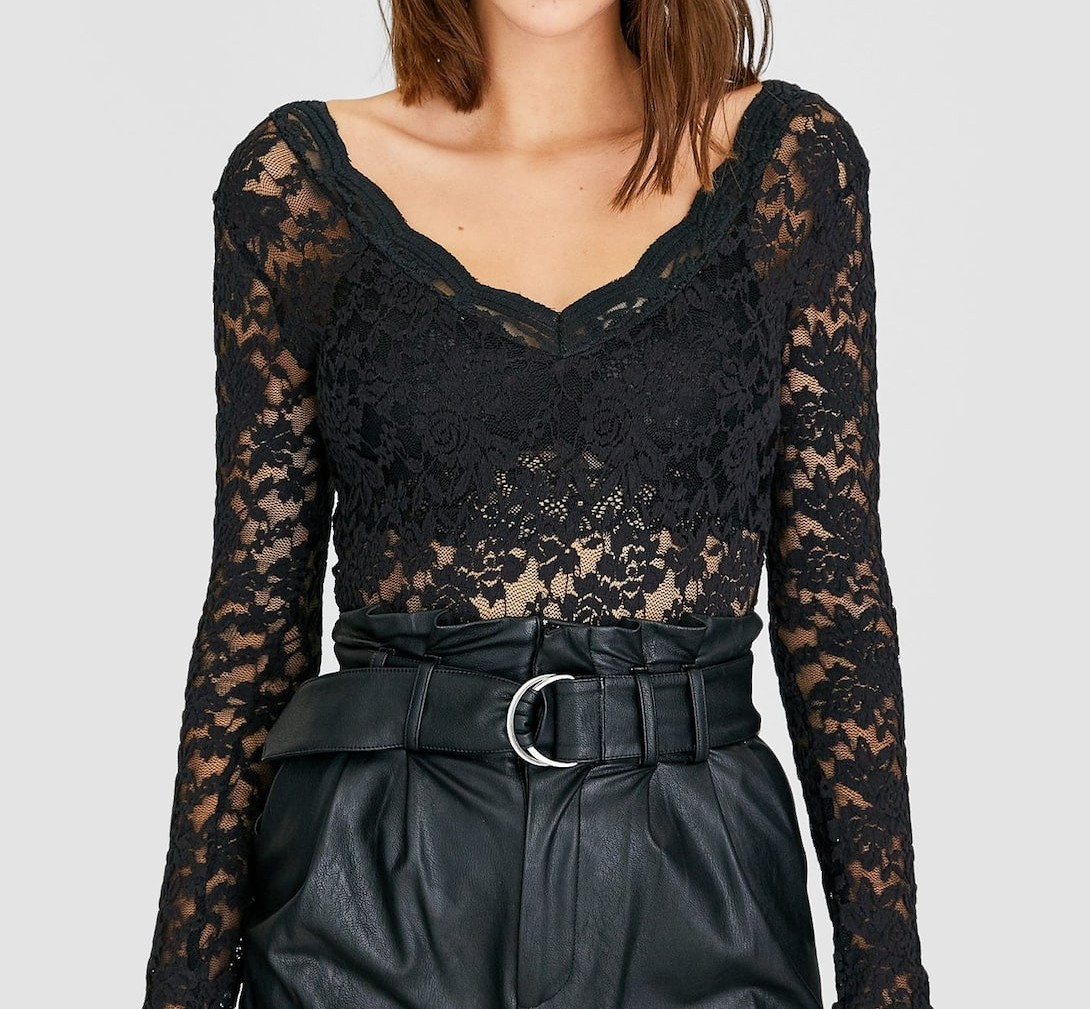 Stradivarius kerst shopping outfit