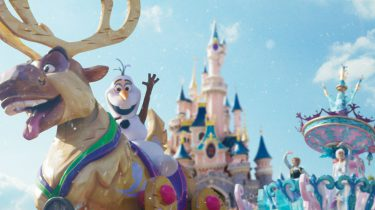 disneyland paris frozen celebration