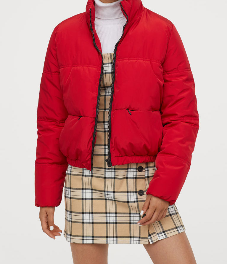 H&M puffer jacket