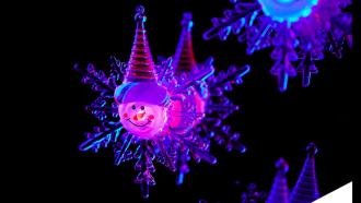 Kerstlampjes action