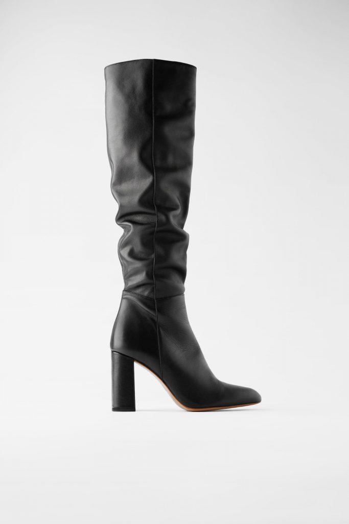 kniehoge laarzen zijn de schoenentrends van de winter 2020