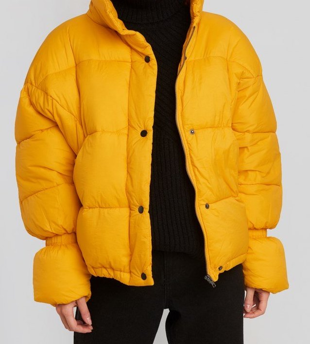 Puffer jacket NA-KD winterjas