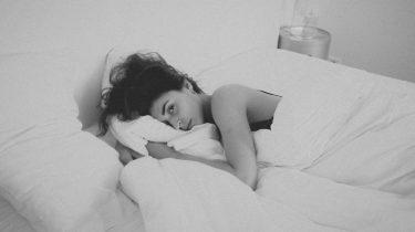 slapen vet verbranden