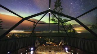 iglo overnachting finland