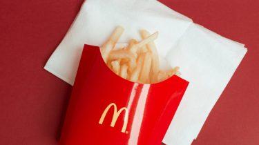 mcdonald's verse frietjes