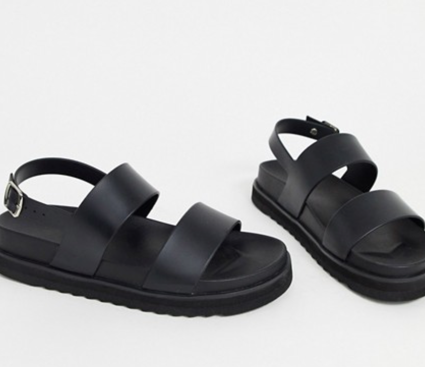 ASOS sandalen in zwart