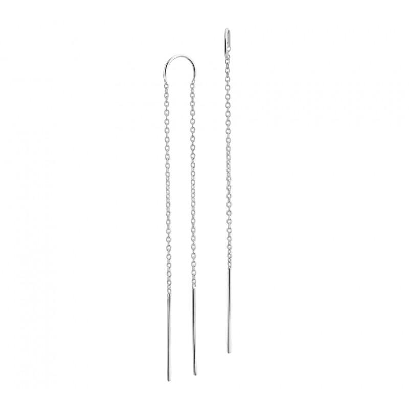 earparty zilveren oorbellen